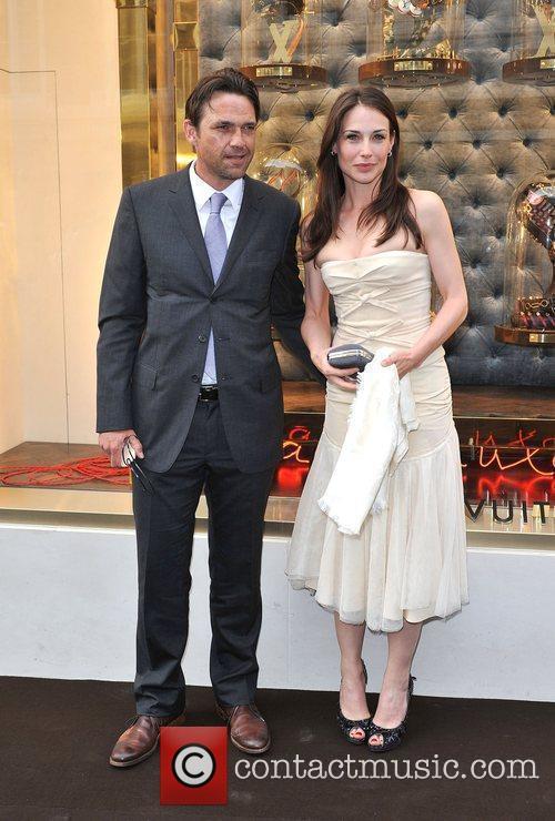 Dougray Scott and Claire Forlaine Louis Vuitton unveils...