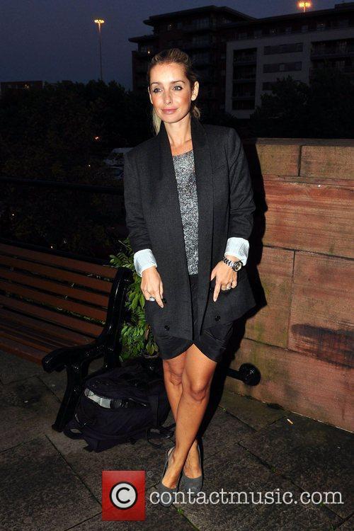 Louise Redknapp  arrives at Dukes 32 where...