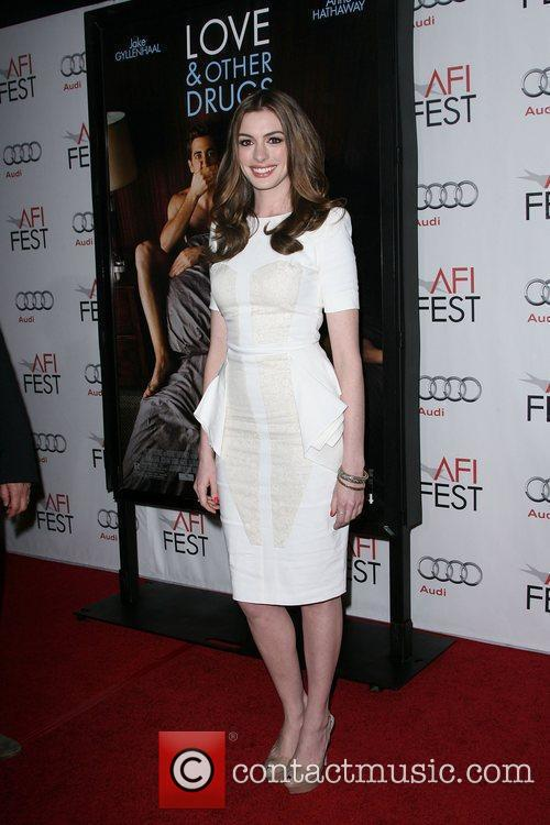 Anne Hathaway and Afi 2