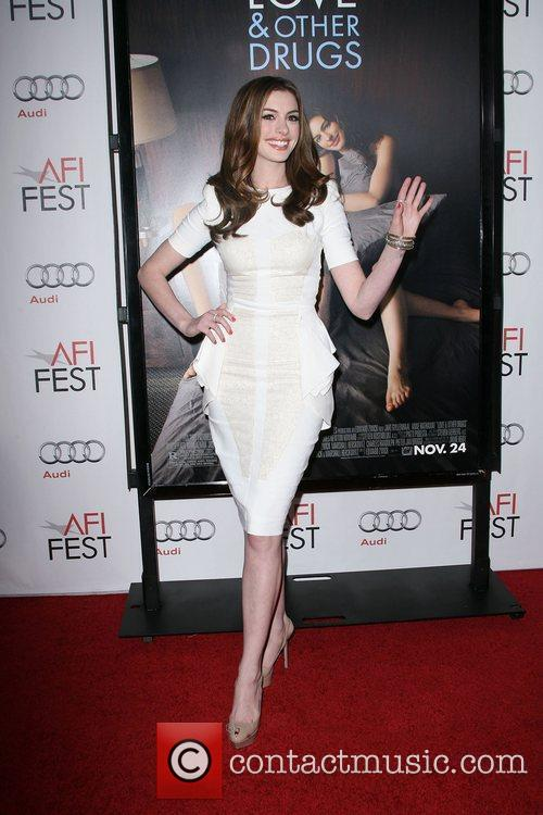 Anne Hathaway and Afi 3