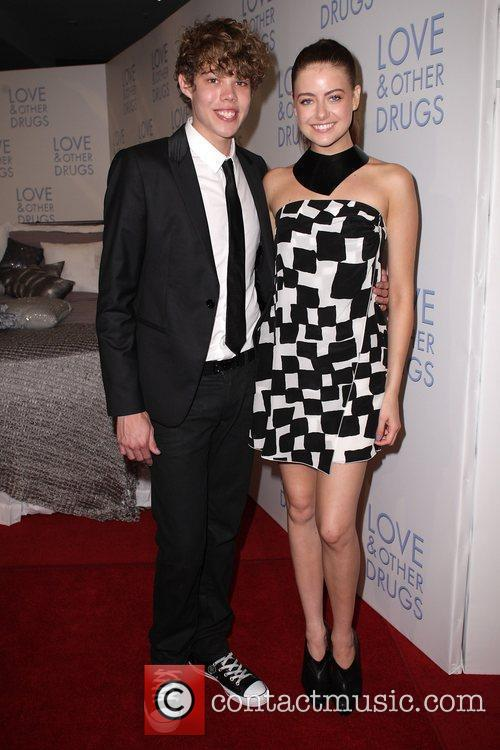 April-Rose Pengilly and Tim Commandeur The Premiere of...