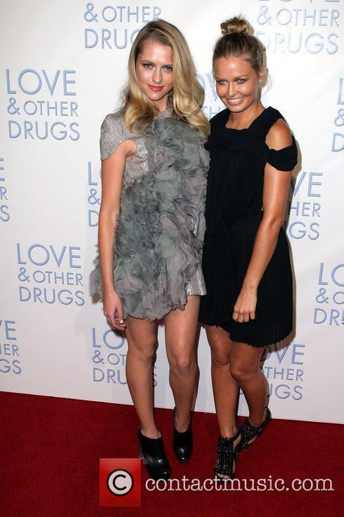 Guest and Lara Bingle The Premiere of 'Love...