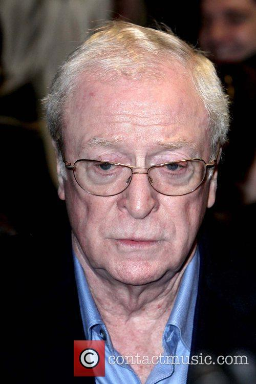 Michael Caine World premiere of 'Love Never Dies'...