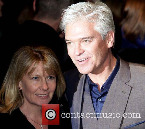 Phillip Schofield and his wife Stephanie Low World...