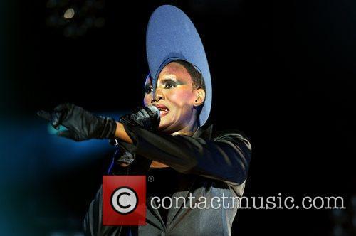 Grace Jones,  at Lovebox Festival at Victoria...