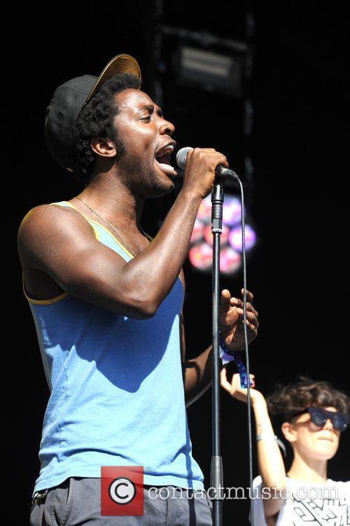 Kele Okereke,  at Lovebox Festival at Victoria...