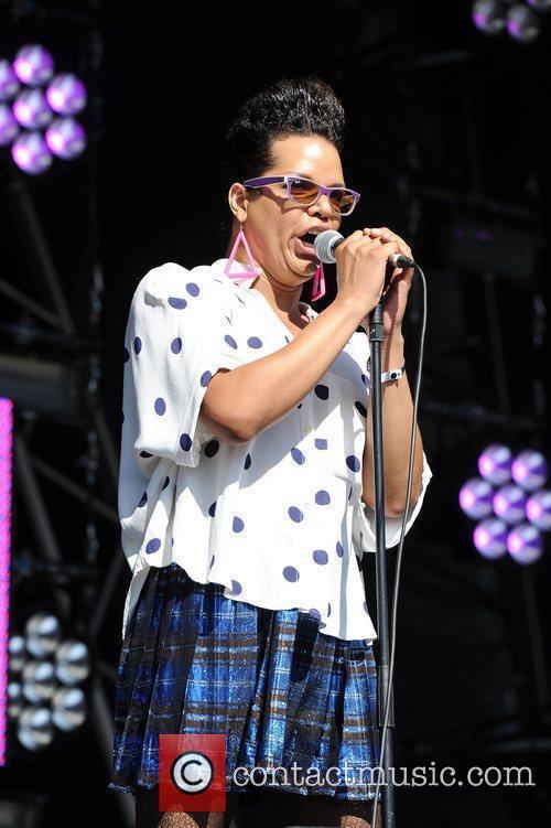 At Lovebox Festival at Victoria Park - Day...
