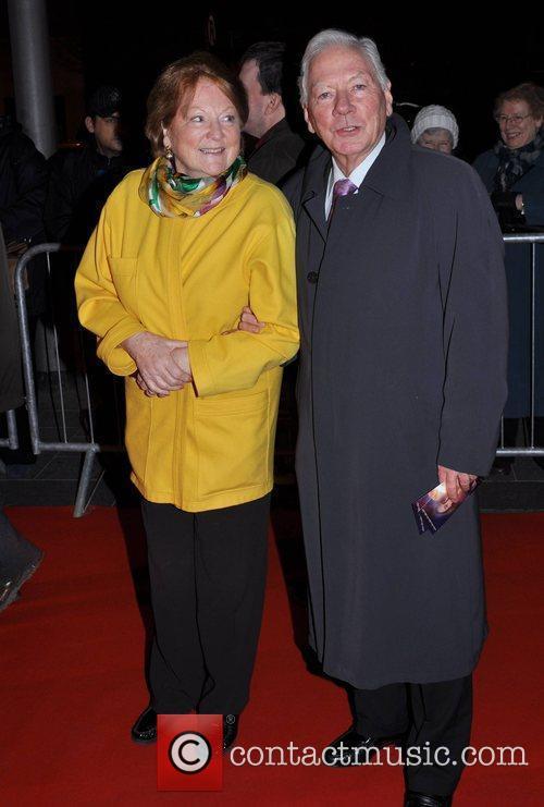 Gay Byrne and Kathleen Watkins Irish Premiere of...