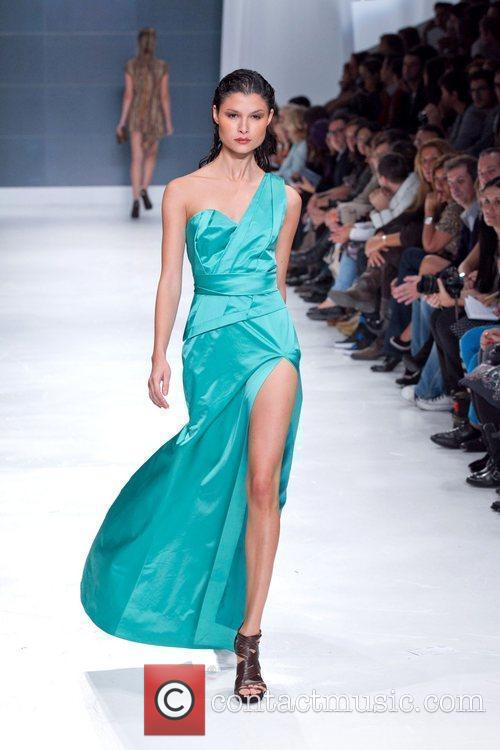 Model Lisbon Fashion Week Nuno Baltazar Spring/Summer 2011...