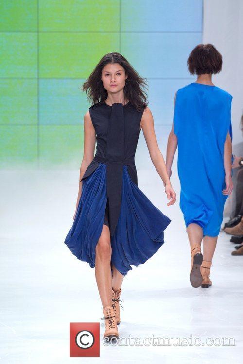 Model Lisbon Fashion Week Ricardo Dourado Spring/Summer 2011...