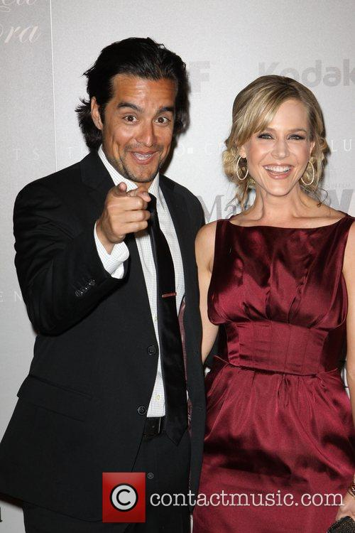 Julie Benz and Rich Orosco 2010 Crystal +...