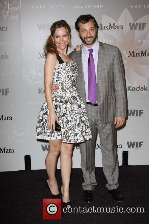 Leslie Mann and Judd Apatow 2010 Crystal +...