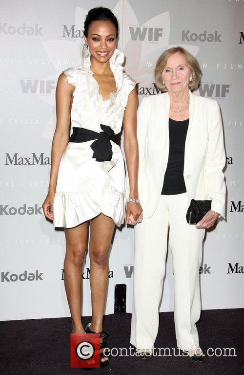 Zoe Saldana and Eva Marie Saint 5