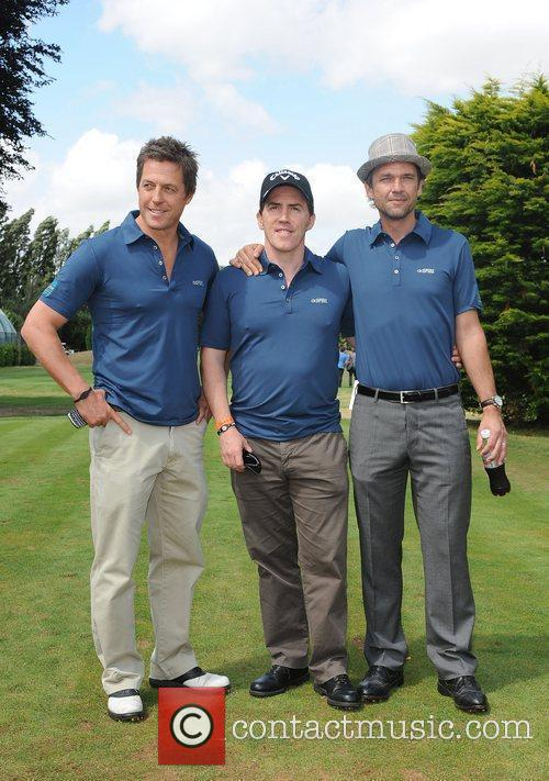 Hugh Grant, Rob Brydon and Dougray Scott at...