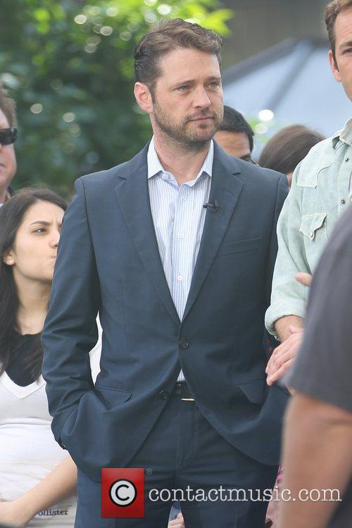 Jason Priestley at The Grove for an interview...
