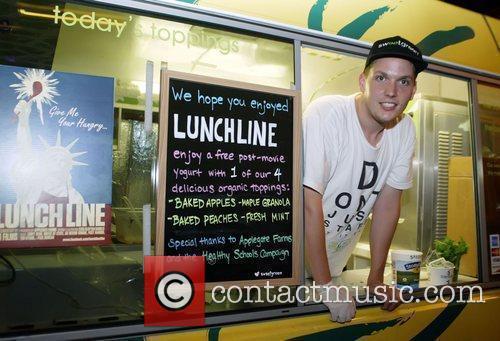 Atmosphere Screening of 'Lunch Line' held at Landmarks...
