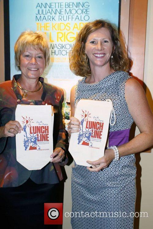Christie Vilsack and Karen Duncan (co-chairs of Cooking...