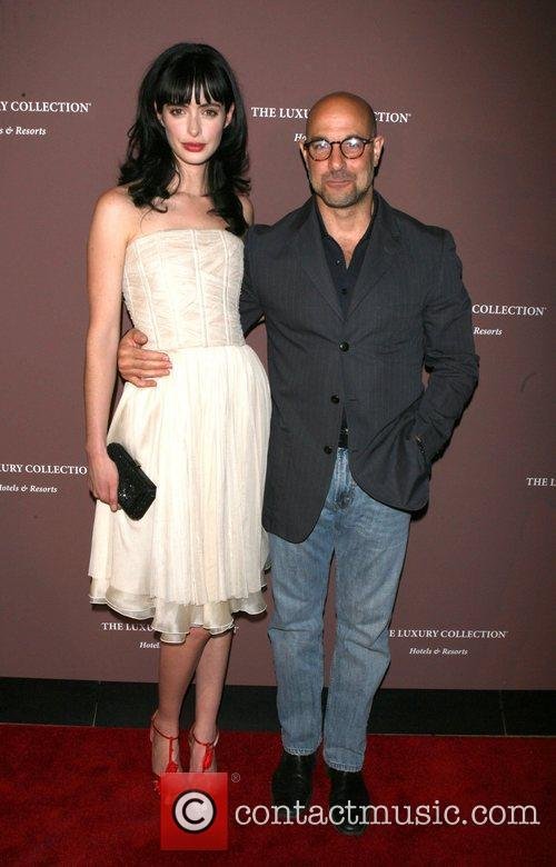 Krysten Ritter and Stanley Tucci 7