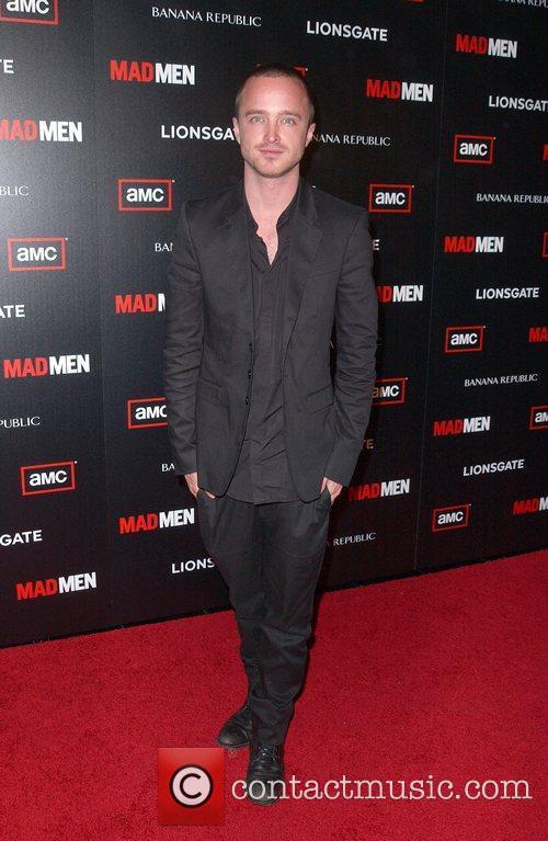 Aaron Paul AMC's Mad Men Season 4 Premiere...