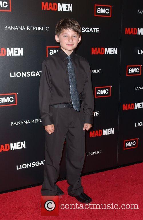 Jared Gilmore AMC's Mad Men Season 4 Premiere...