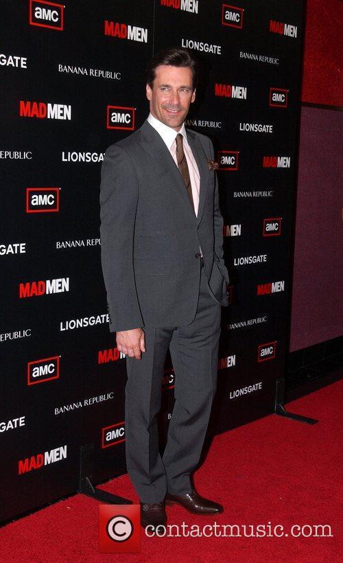 Jon Hamm AMC's Mad Men Season 4 Premiere...
