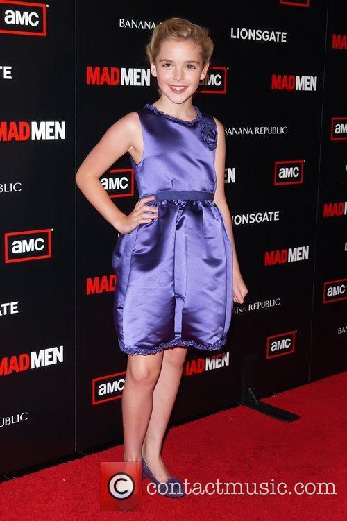 Kiernan Shipka AMC's Mad Men Season 4 Premiere...