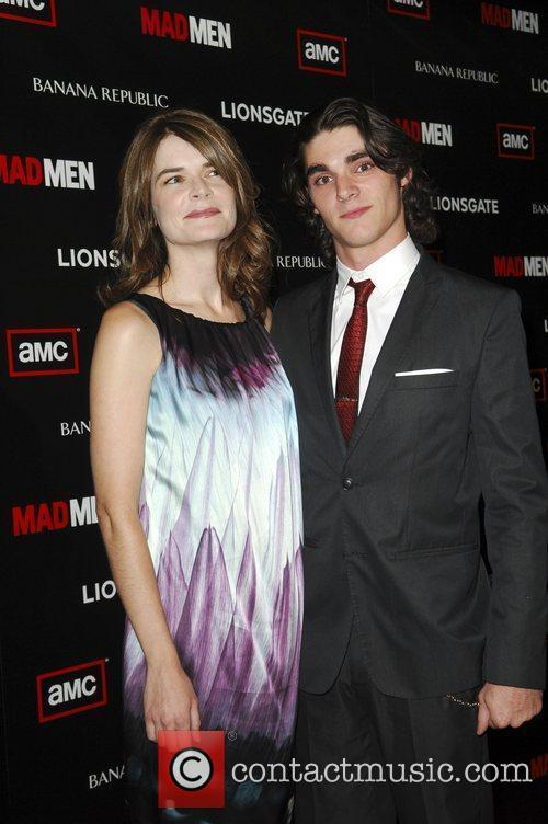 Betsy Brandt and RJ Mitte  AMC's Mad...