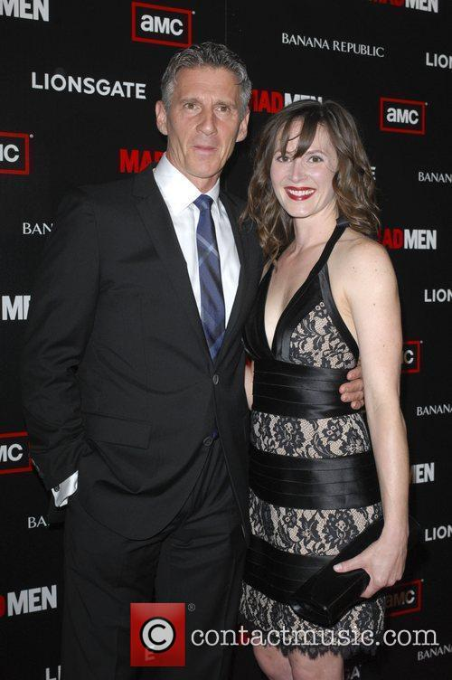 Christopher Stanley and wife  AMC's Mad Men...