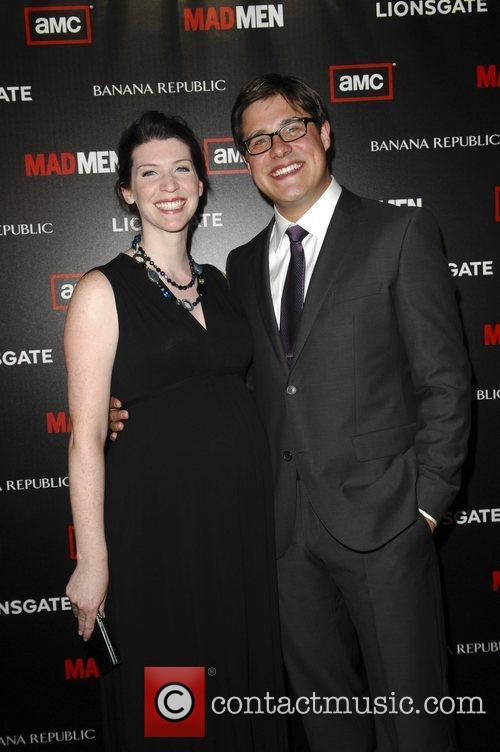Rich Sommer and wife  AMC's Mad Men...