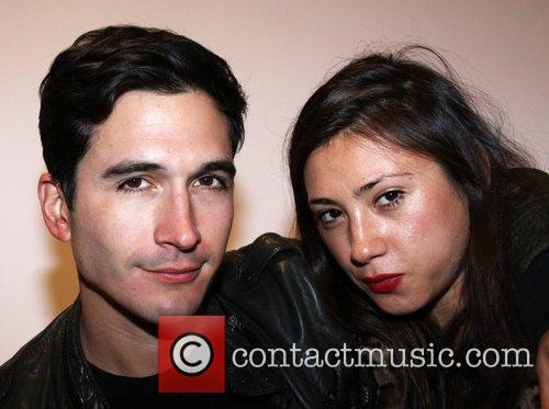 Lazaro Hernandez and Jen Brill attend the 2010...