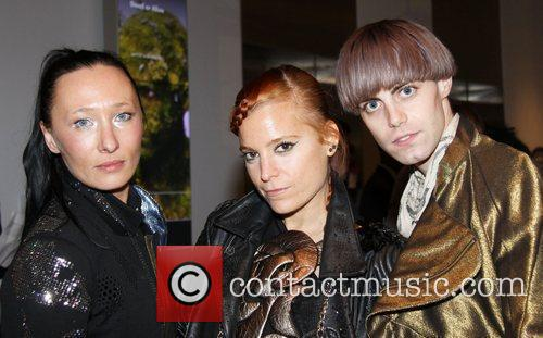 3asfour attend the 2010 Mad Metalball held at...