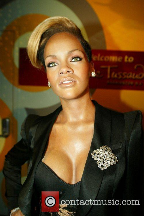 Rihanna waxwork is unveiled at Madame Tussauds
