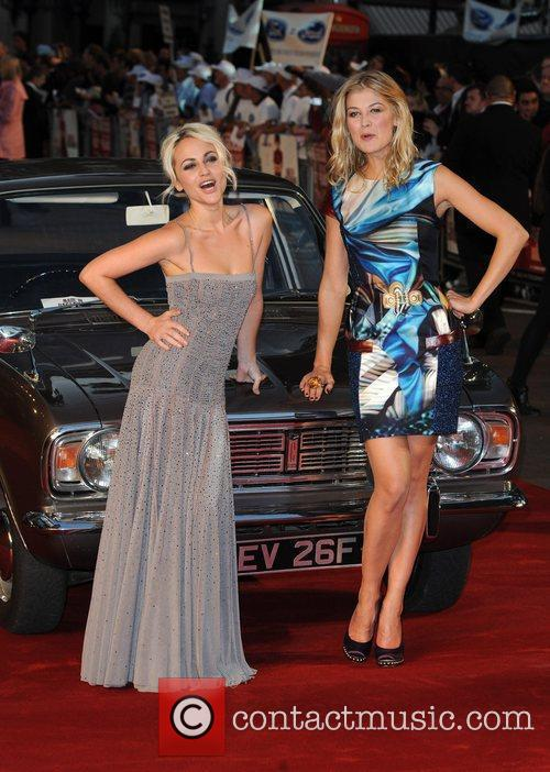 Rosamund Pike and Jaime Winstone 3