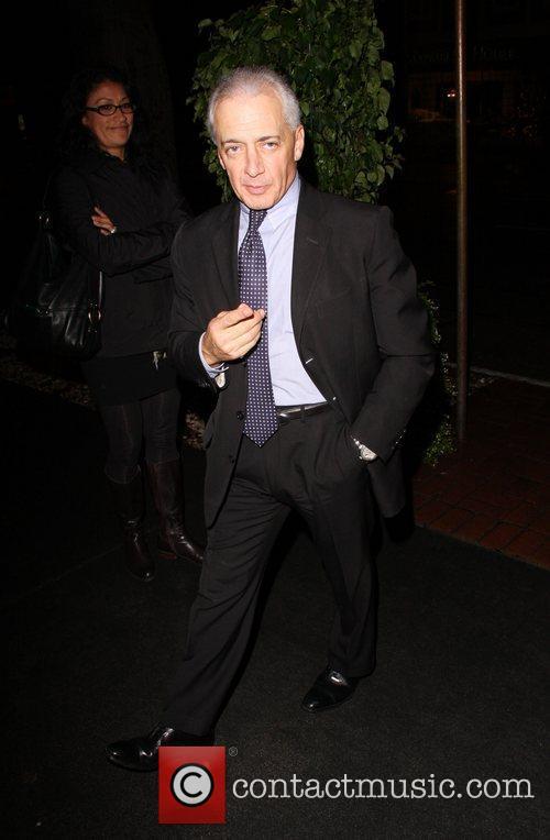 Lawyer Mark Vincent Kaplan arriving at Madeo restaurant...