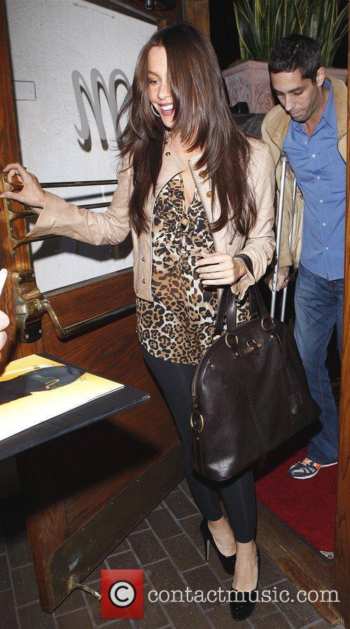 Sofia Vergara and her boyfriend Nick Loeb...