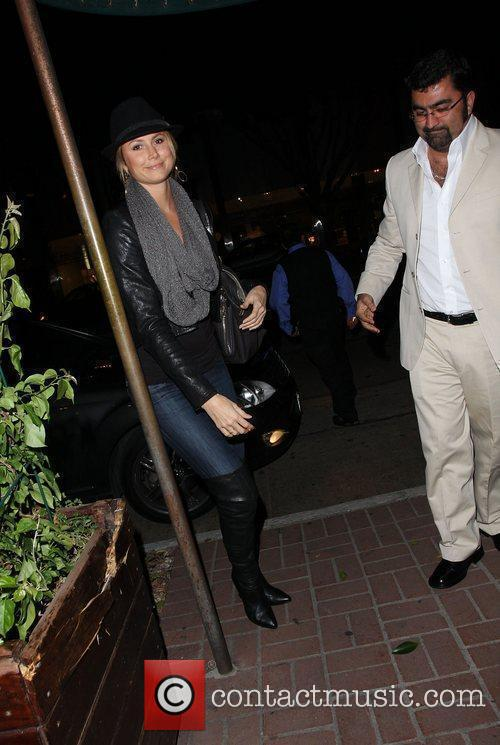 Stacy Keibler at Madeo restaurant Los Angeles, California