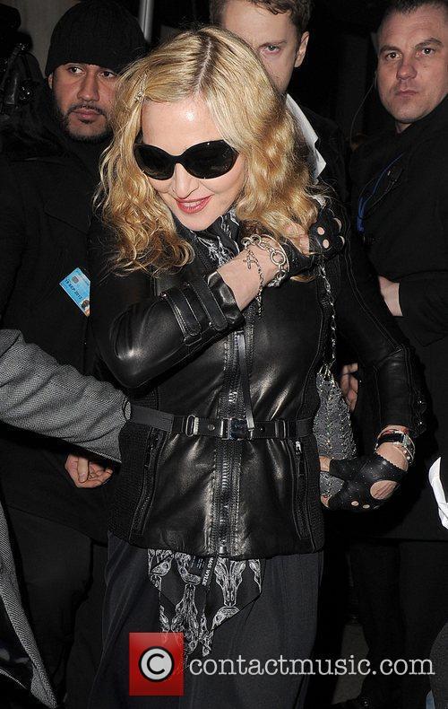 Brahim Zaibat joins his girlfriend Madonna at Aura...