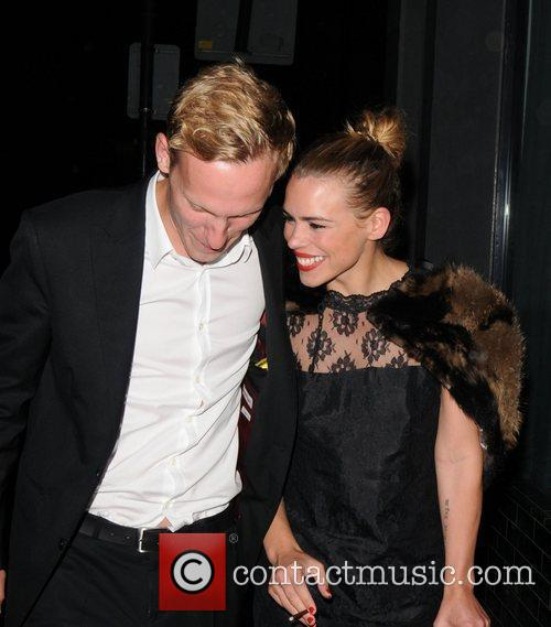 Billie Piper and her husband Laurence fox arrive...