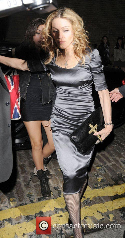 Madonna and her daughter Lourdes arrive at swanky...