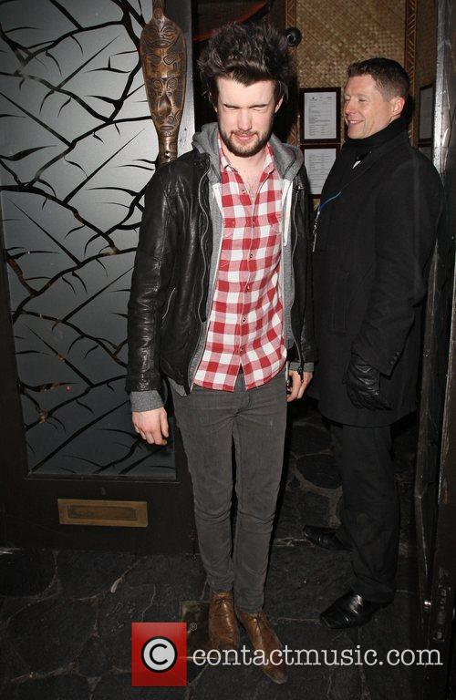 Jack Whitehall leaving Mahiki nightclub.
