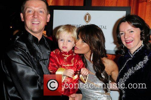 Paula Abdul and Guests The 16th Annual InterContinental...