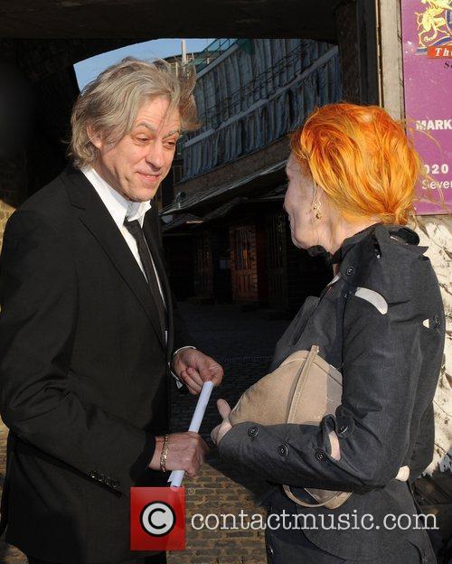 Sir Bob Geldof and Dame Vivienne Westwood The...