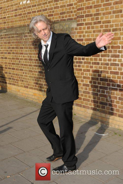 Sir Bob Geldof  The wake of Macolm...