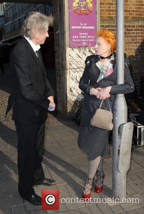 The wake of Macolm McLaren in Camden Town.
