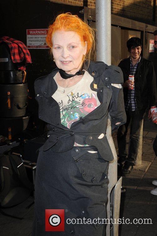 Dame Vivienne Westwood The wake of Macolm McLaren...