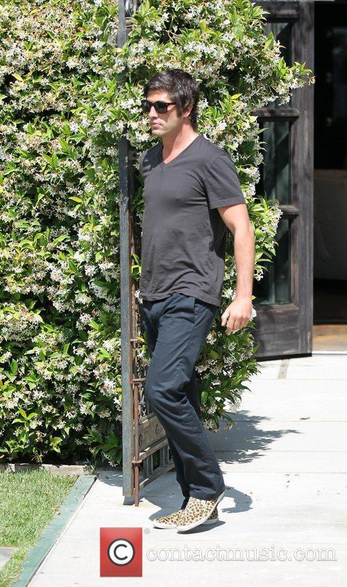 Brandon Davis out and about at Malibu Country...