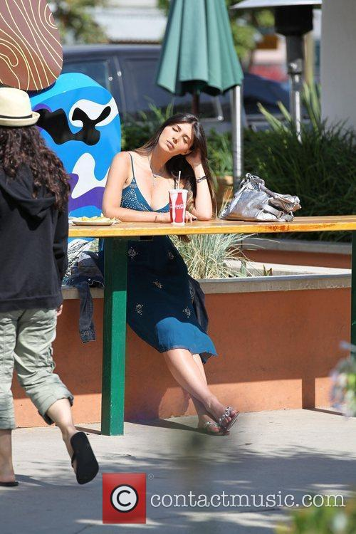 Brittny Gastineau  out and about at Malibu...
