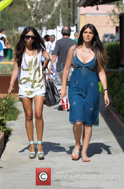 Out and about at Malibu Country Mart in...