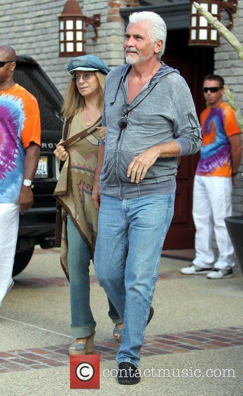 Barbra Streisand and James Brolin 1