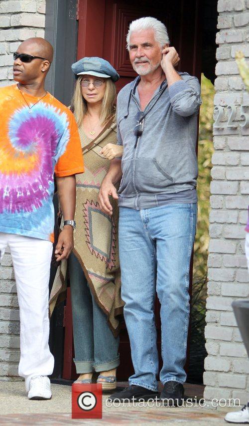 Barbra Streisand and James Brolin 9